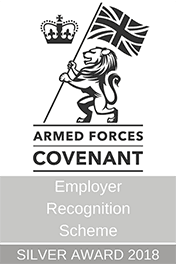 Armed Forces Covenant - ERS Silver 2018 LOGO